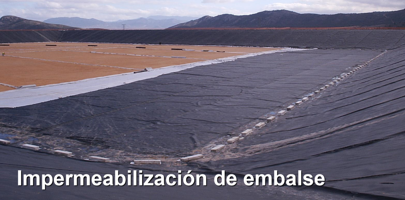 impermeabilización Embalse