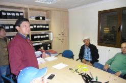 capacitación agricultores en las instalaciones de GCM Water Systems