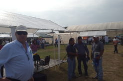 Feria Internacional Agrícola Comayagua. Gerente de GCM WS asisitiendo a la Feria